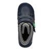 Kotníčková dětská zimní obuv mini-b, modrá, 291-9627 - 15