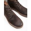 Pánská kožená kotníčková obuv bata, hnědá, 846-4653 - 14