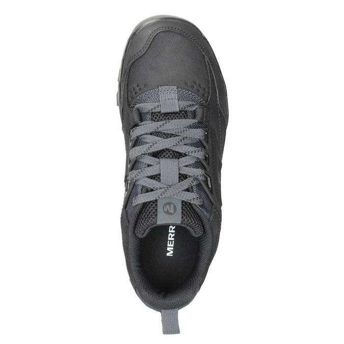 Pánská kožená obuv v Outdoor stylu merrell, černá, 806-6570 - 15
