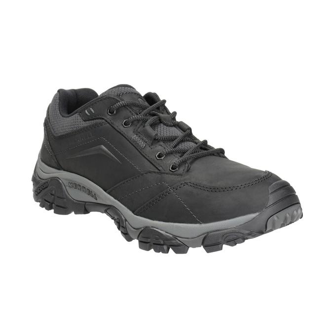 Pánská kožená obuv v Outdoor stylu merrell, černá, 806-6561 - 13