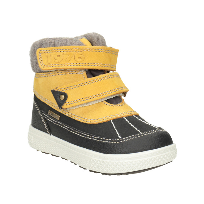Dětská zimní obuv kožená primigi, žlutá, 196-8006 - 13