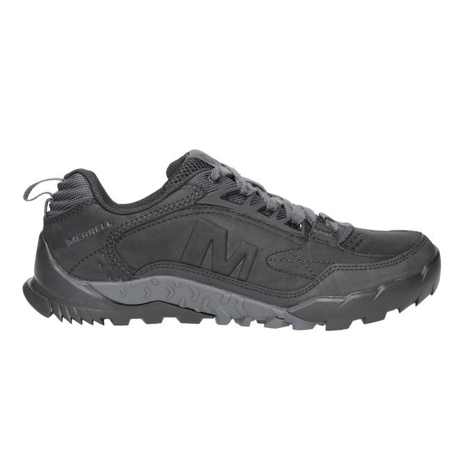 Pánská kožená obuv v Outdoor stylu merrell, černá, 806-6570 - 26