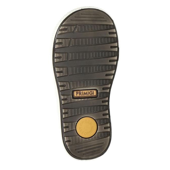Dětská zimní obuv kožená primigi, žlutá, 196-8006 - 17