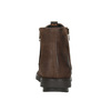 Kožená kotníčková obuv se zipem flexible, hnědá, 594-4227 - 16