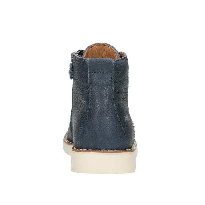 Dětská kotníčková obuv z kůže primigi, modrá, 314-9004 - 16