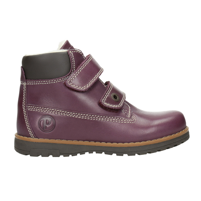 Dětské kotníčkové boty se zateplením primigi, fialová, 324-9012 - 26