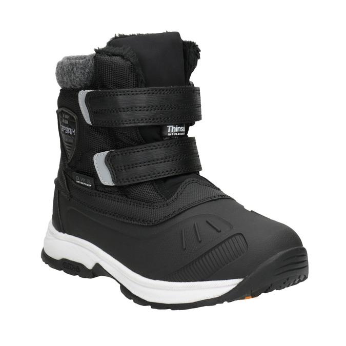 Dětská zimní obuv na suché zipy icepeak, černá, 399-6018 - 13