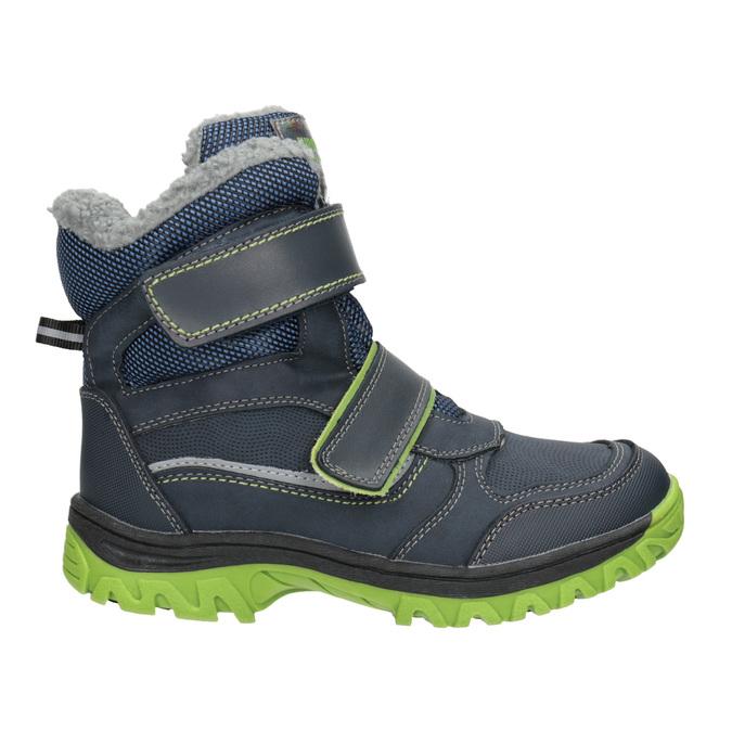 Dětská zimní obuv na suché zipy mini-b, modrá, 491-9654 - 26