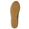 Hnědá kožená kotníčková obuv bata, hnědá, 843-3632 - 19