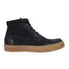 Pánská kožená kotníčková obuv bata, modrá, 843-9631 - 15
