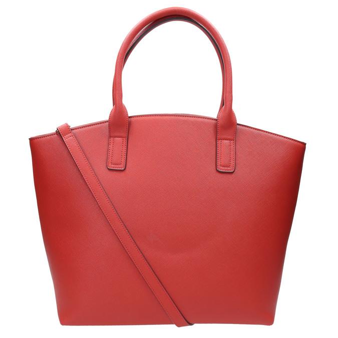 Dámská červená kabelka bata, červená, 961-5821 - 26
