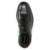 Kožená kotníčková obuv rockport, černá, 894-6036 - 15