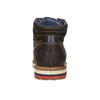 Pánská zimní kožená obuv bata, hnědá, 896-4676 - 17