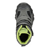 Dětská obuv na suché zipy mini-b, šedá, 299-2616 - 26