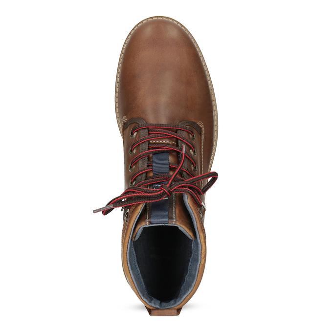 Pánská zimní kotníčková obuv bata, hnědá, 896-3677 - 17