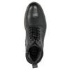Kožená kotníčková obuv zimní bata, černá, 896-6685 - 26