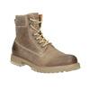 Hnědá kožená kotníčková obuv weinbrenner, 896-8702 - 13