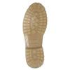Hnědá kožená kotníčková obuv weinbrenner, 896-8702 - 17