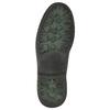 Kožená kotníčková obuv bata, šedá, 896-2686 - 19