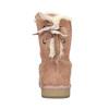 Dámské kožené válenky bata, červená, 593-5604 - 17