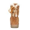 Dámské kožené válenky bata, hnědá, 593-4604 - 17