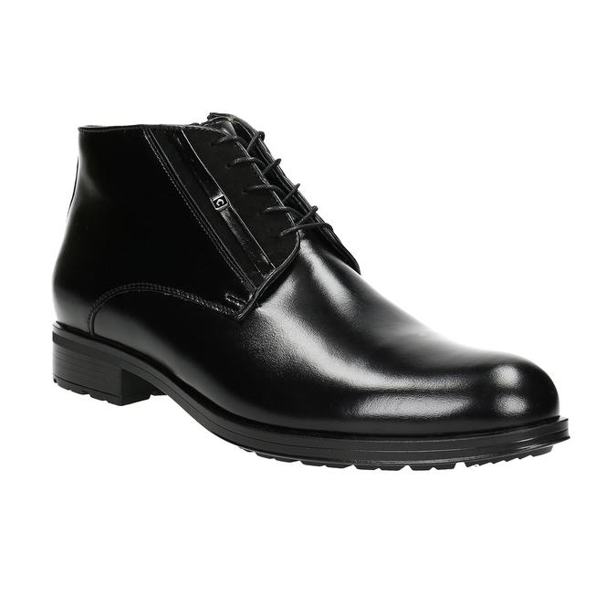 Kožená pánská obuv se zateplením conhpol, černá, 894-6700 - 13
