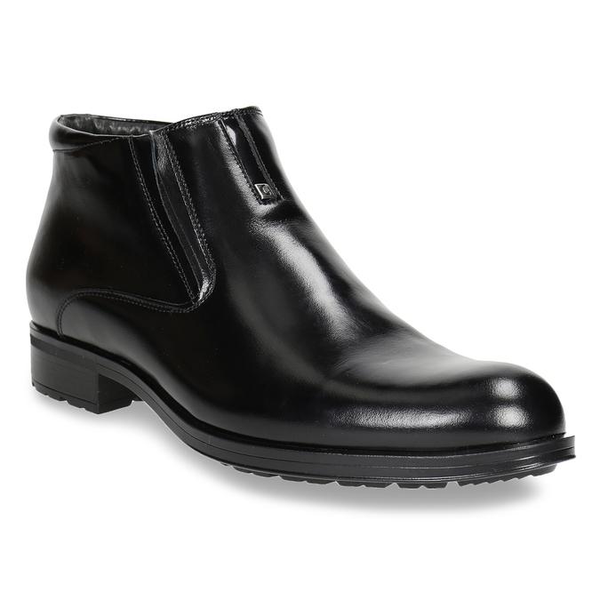 Kotníčková pánská obuv se zateplením conhpol, černá, 894-6698 - 13