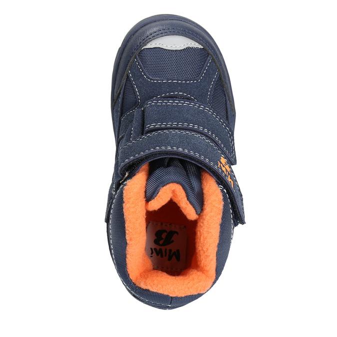 Dětské zimní boty na suché zipy mini-b, modrá, 291-9626 - 26