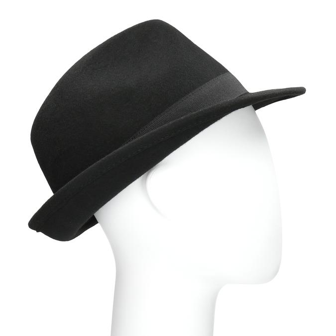 Černý klobouk bata, černá, 909-6674 - 13