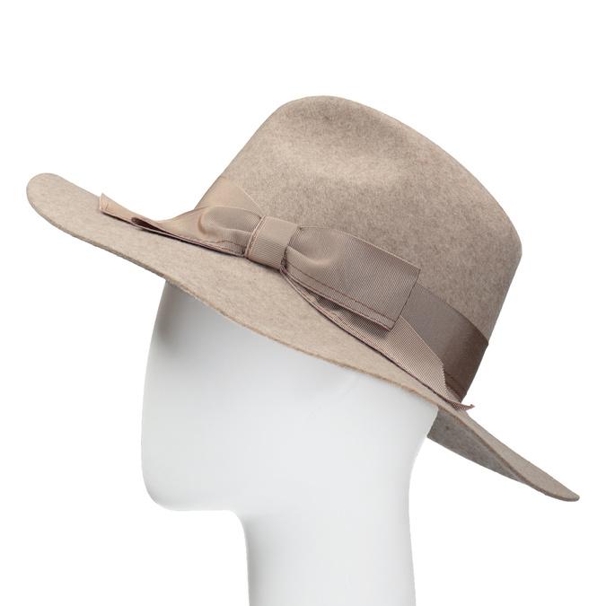 Dámský vlněný klobouk tonak, béžová, 909-8651 - 26