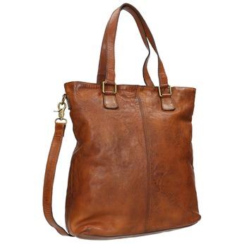 Kožená dámská kabelka bata, hnědá, 964-3245 - 13
