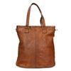 Kožená dámská kabelka bata, hnědá, 964-3245 - 26