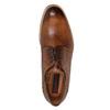 Kožené pánské Brogue polobotky conhpol, hnědá, 826-3921 - 15