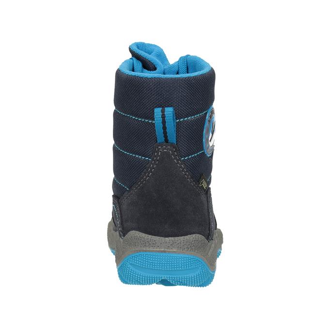 Modrá dětská zimní obuv superfit, modrá, 293-9023 - 16