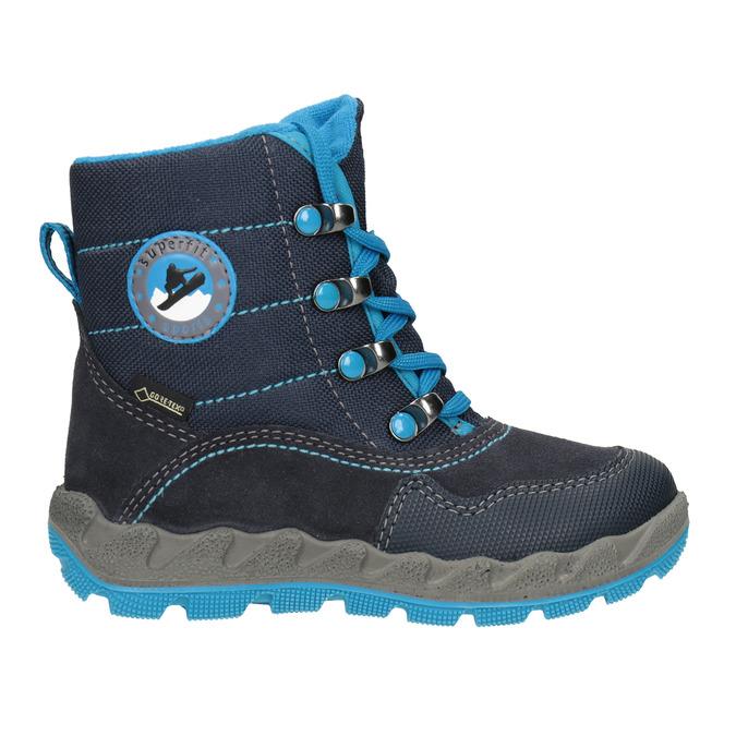 Modrá dětská zimní obuv superfit, modrá, 293-9023 - 26