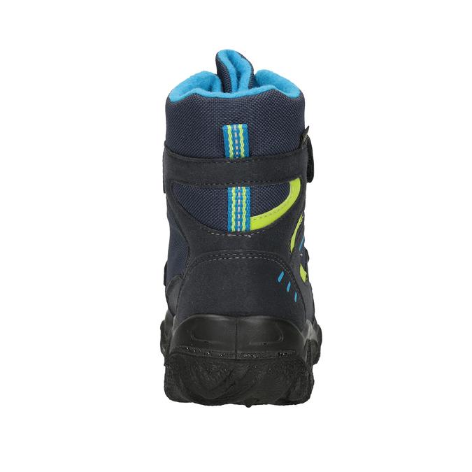 Zimní obuv na suché zipy superfit, modrá, 399-9031 - 16