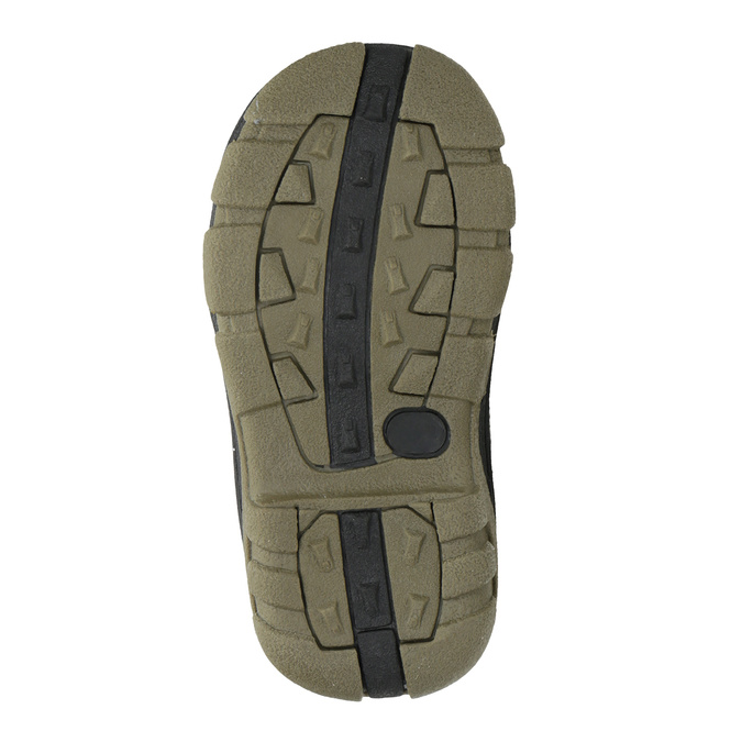Dětská zimní obuv na suché zipy bubblegummers, hnědá, 111-4623 - 17