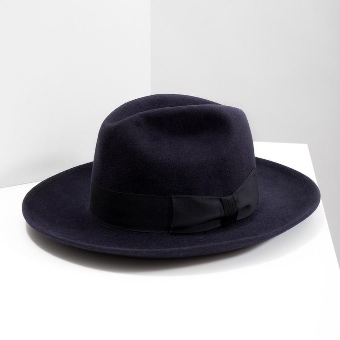 Tmavě modrý klobouk tonak, modrá, 909-9653 - 18