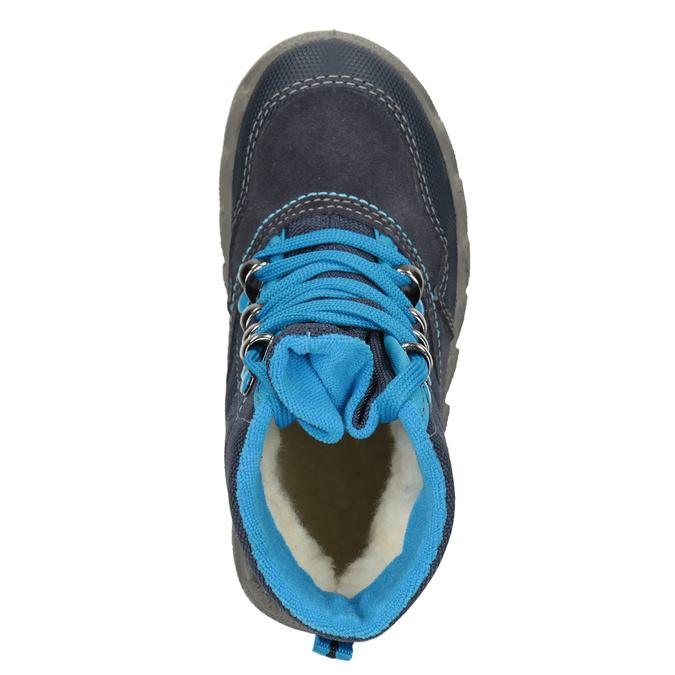 Modrá dětská zimní obuv superfit, modrá, 293-9023 - 15