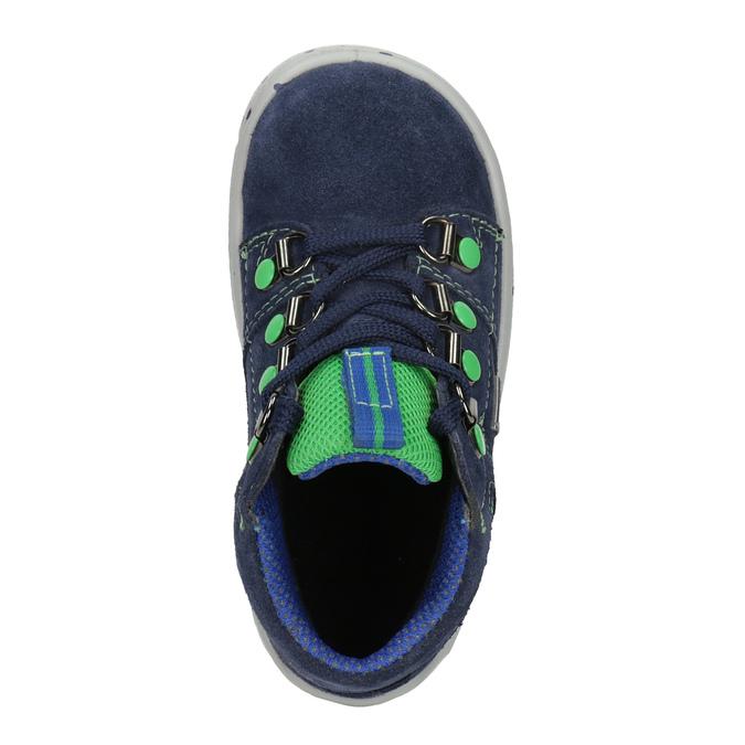 Kotníčková dětská obuv superfit, modrá, 113-9029 - 15