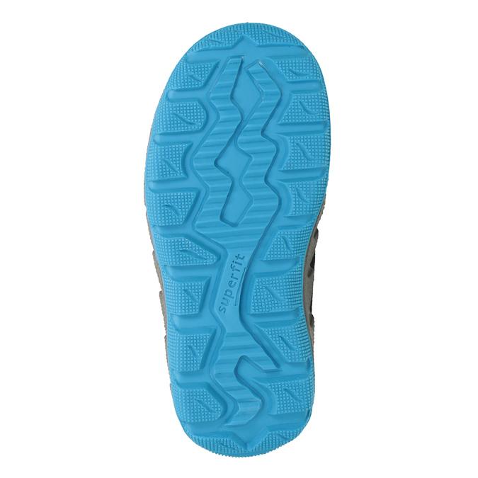 Modrá dětská zimní obuv superfit, modrá, 293-9023 - 17