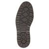 Pánská kožená obuv hnědá bata, hnědá, 896-3666 - 19