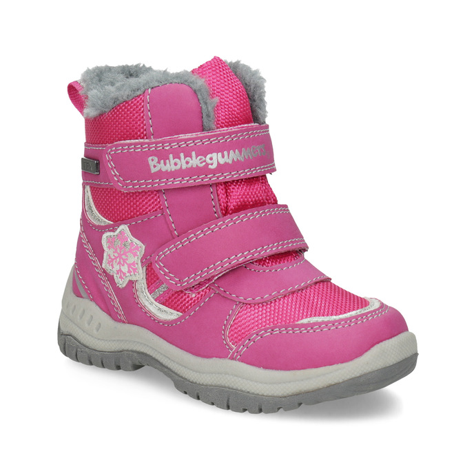 Bubblegummers Růžové dětské sněhule - Pro nejmenší děti  83761c9ee5