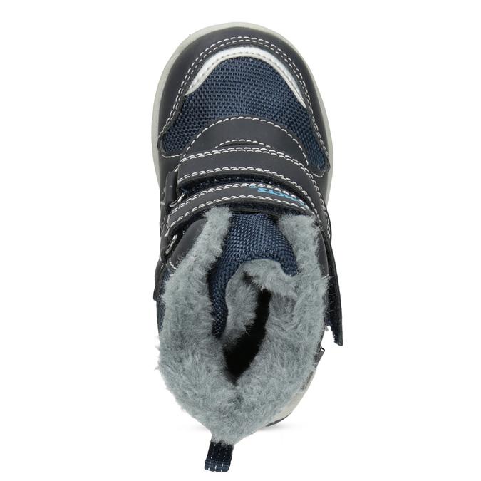 Dětské zimní boty s kožíškem bubblegummers, modrá, 199-9602 - 17