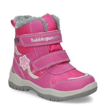 Růžové dětské sněhule bubblegummers, růžová, 199-5602 - 13