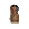 Pánská kotníková obuv bata, hnědá, 896-3669 - 16