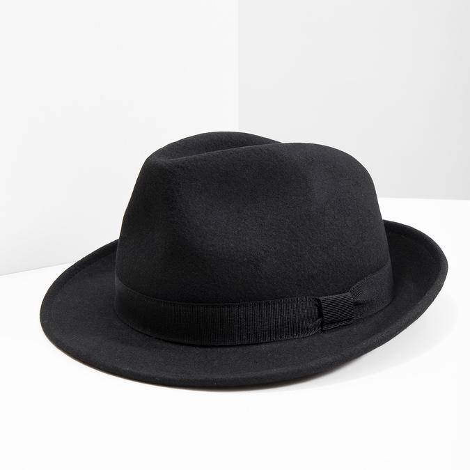 Černý klobouk bata, černá, 909-6674 - 18