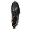 Kožená kotníková obuv se zateplením bata, černá, 896-6662 - 26