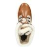 Dámská zimní obuv s kožíškem gant, béžová, 526-8051 - 26