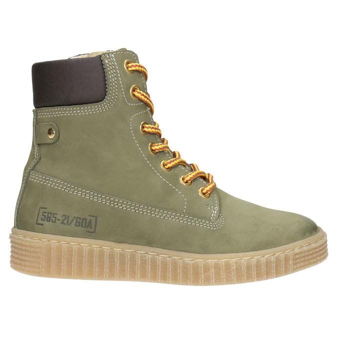 Dětská zimní obuv se zateplením mini-b, zelená, 496-3620 - 26